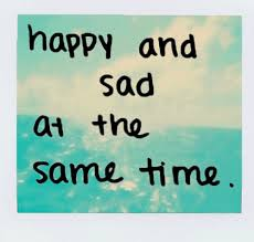 happy sad